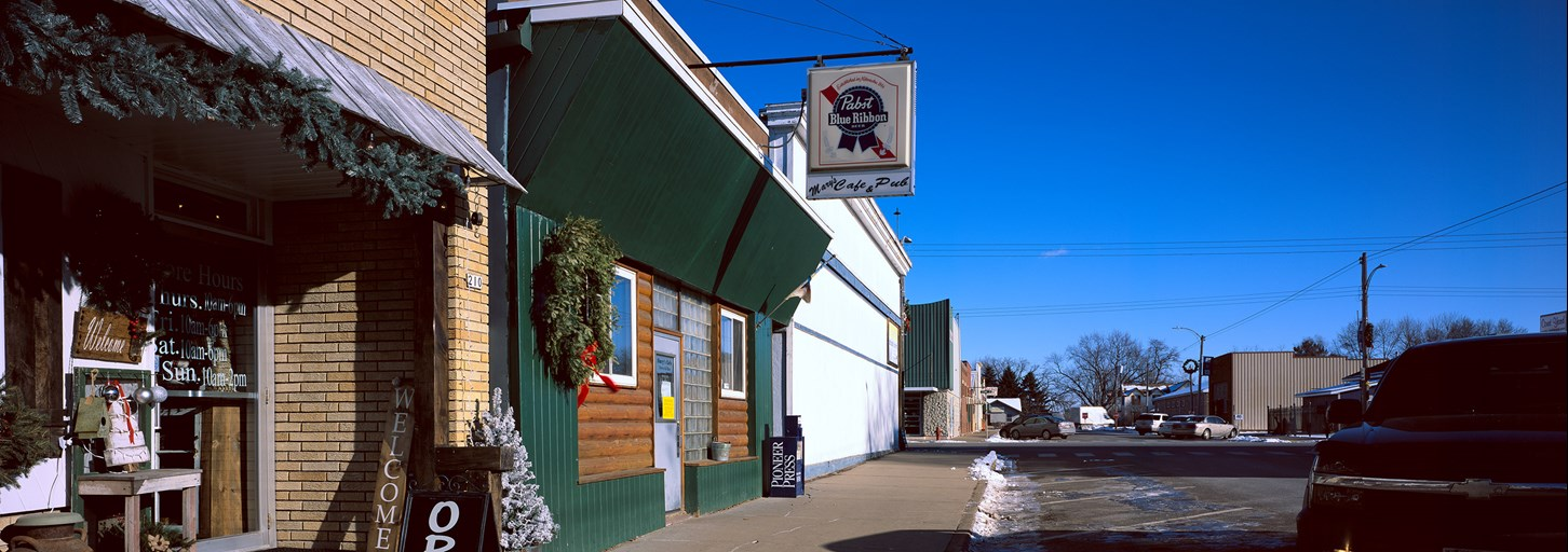 Mary's Cafe & Pub, Chetek, Wisconsin, December 2017