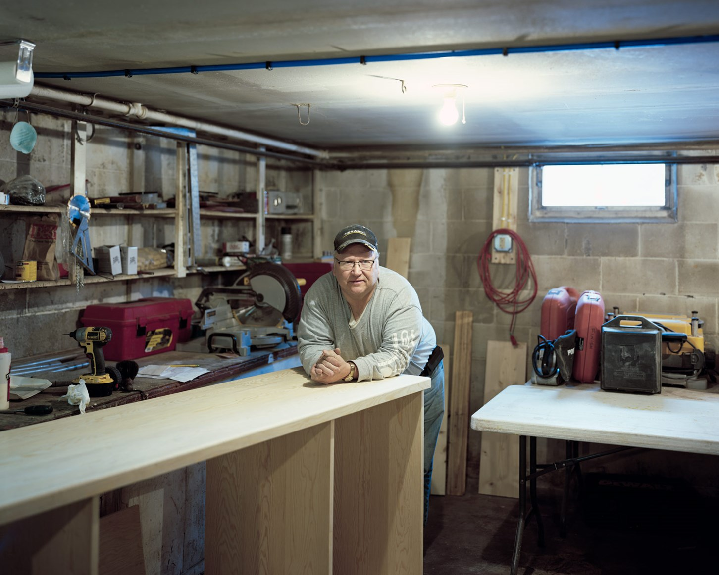 Basement Workshop, Ontonagon, Michigan, March 2015