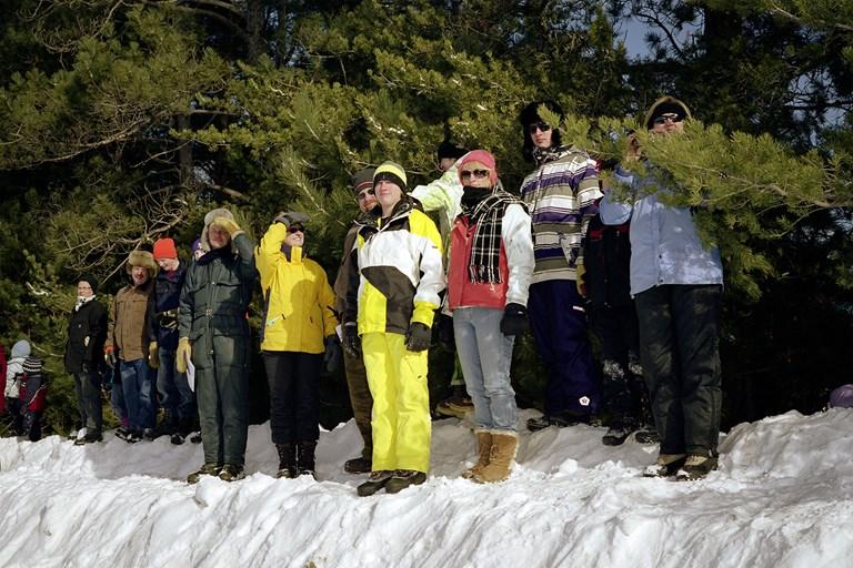 Spectators, January 2011