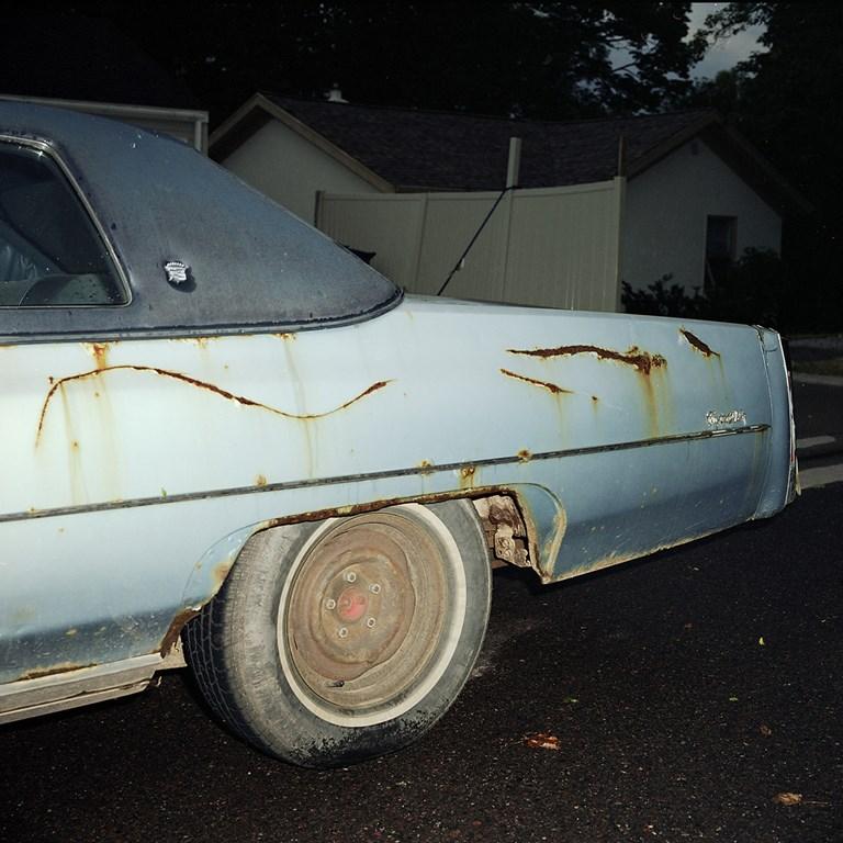 Rusty Coupe de Ville, Duluth, Minnesota, August 2013