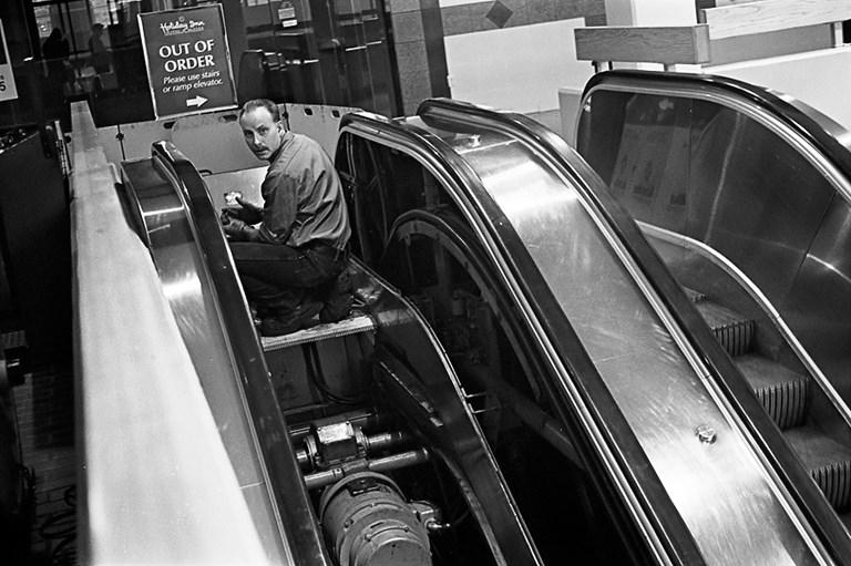 The Escalator Repair Man, Duluth, Minnesota, January 2008