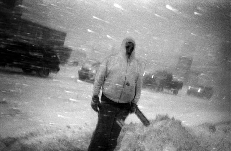 Shovel Monster, Duluth, Minnesota, December, 2008