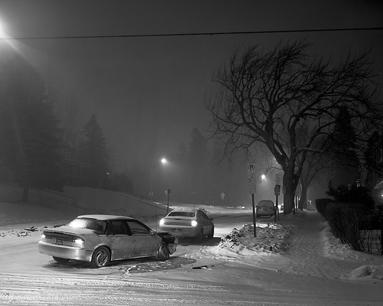 Winter Car Crash, Duluth, Minnesota, December 2010