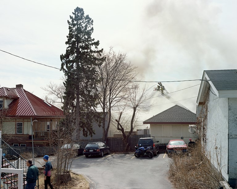 Applewood Knoll Apartment Fire, Duluth, Minnesota, April, 2015