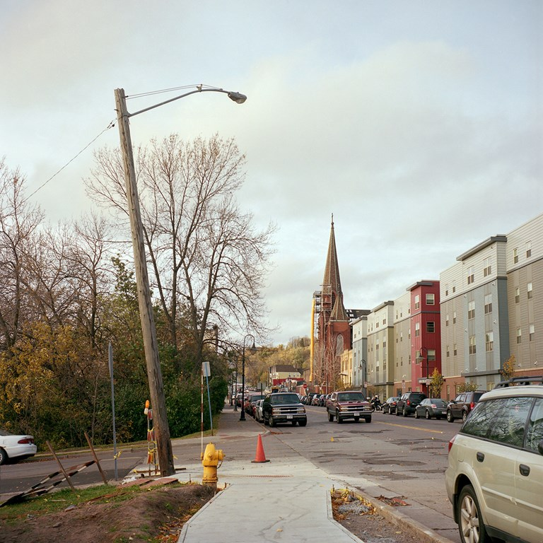 4th Street, Duluth, Minnesota, October 2015