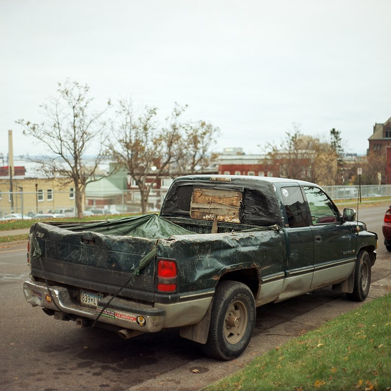 A Very Well Used Truck, Duluth, Minnesota, October, 2015