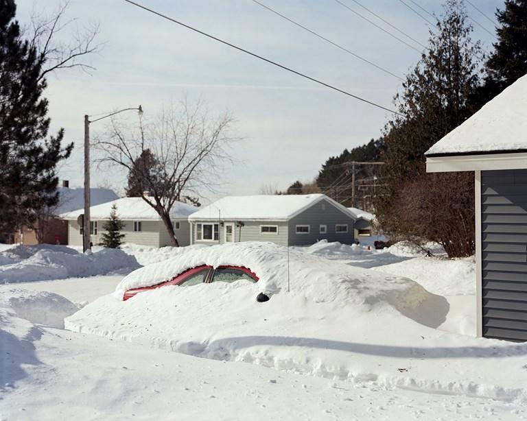 Buried Car, Biwabik, Minnesota, February, 2014
