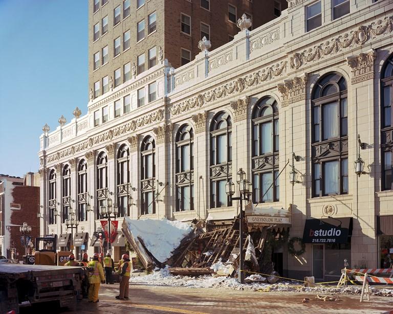 Greysolon Plaza Collapse, Duluth, Minnesota, December, 2013