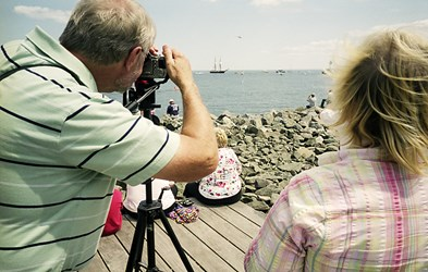 Photographing The Tall Ships