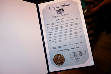 Night 1: Mayor's Proclamation