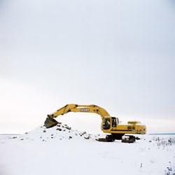 Resting Excavator